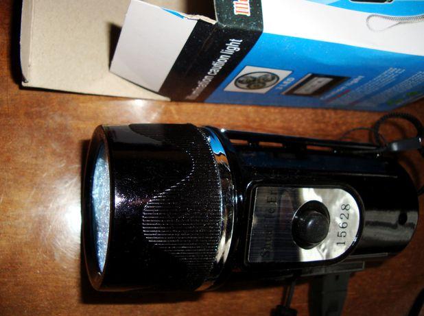 Мощный фонарик на св\диодах зарядка от сети с магнит держателем