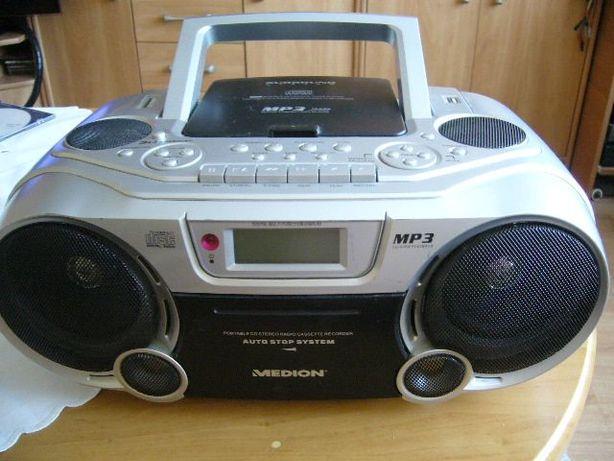 Radiomagnetofon ,CD z czytnikiem karty SD, i port USB