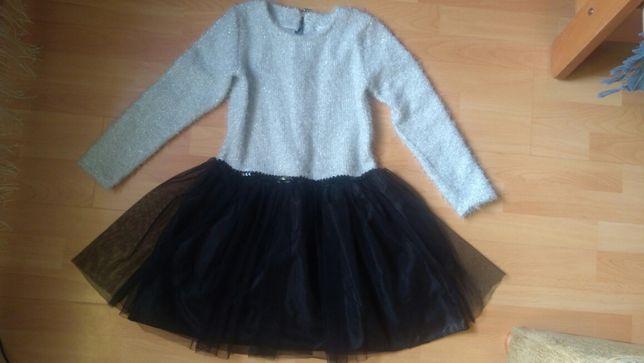 Sukienka śliczna NOWA, bez metki 152- 158