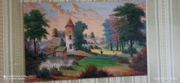 Картина намальована красками на полотні