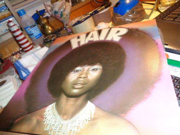 Disco LP Hair das Seleções Usado