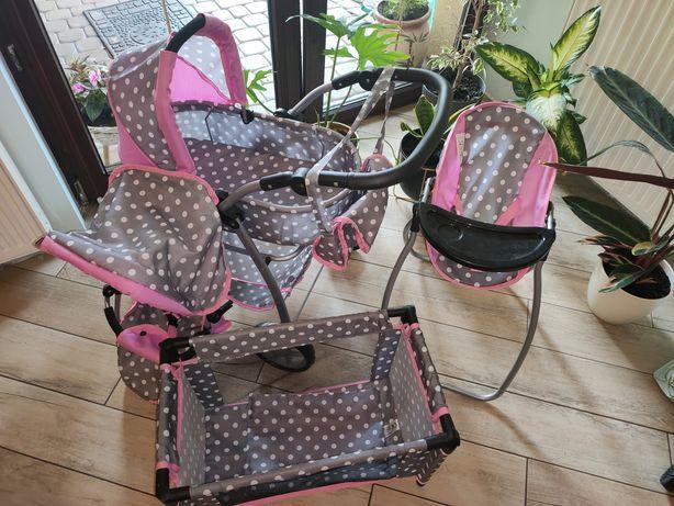 Wózek dla lalek Doris 4w1