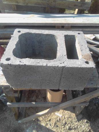 Bloczek kominowy z jedną wentylacją