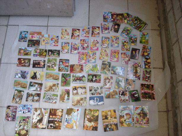 Календарики Маша и Медведь, Винкс и животные 2012 года