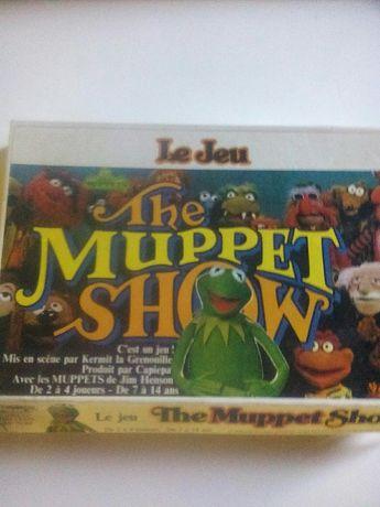 Jogo tabuleiro muppet show anos 80