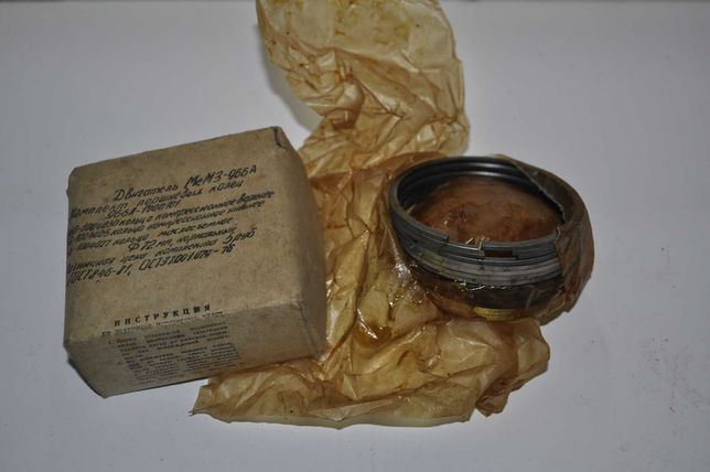 Кольца поршневые МеМз-966.СССР