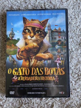 Filme O Gato das Botas A verdadeira História