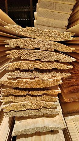 Sztachety drewniane, listwy ławkowe, deski, boazeria Deska tarasowa