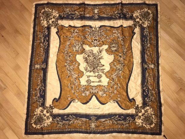 Andrea zanellato-шикарный шелковый жаккардовый итальянский платок!