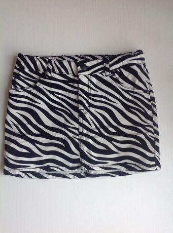 Юбка H&M, джинсовая юбка, 10-11 лет