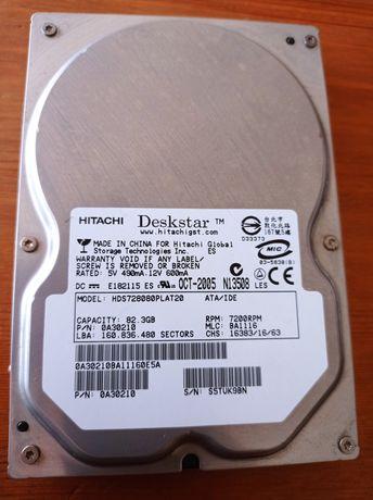 Disco rígido de 82gb IDE Hitachi
