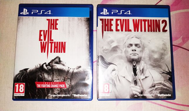 Evil Within + Evil Within 2 PS4. Polecam!
