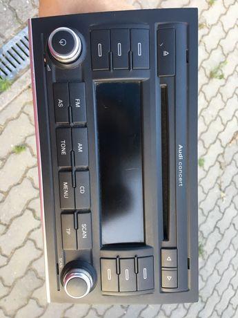 AUDI a4 b7 radio samochodowe concert z kodem