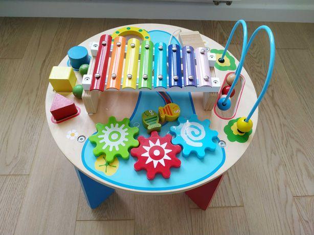 Stolik interaktywny Montessori motoryczno muzyczny