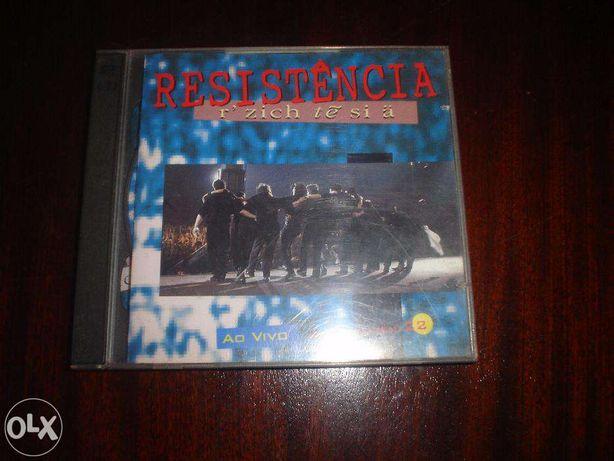 CD dos Resistência ao vivo