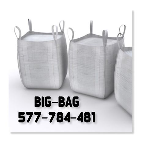 Worki Big Bag rozmiar 90/90/110cm ! NOWE! Big Bag! HURTOWNIA