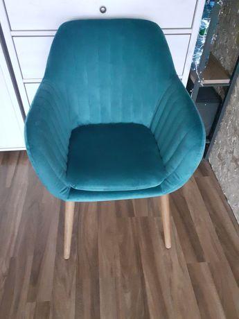 Krzesło fotel tapicerowany Emilia