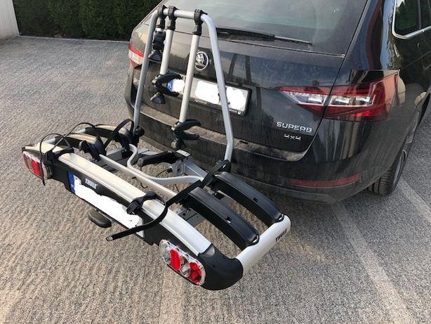 Wynajem Bagażnik rowerowy na hak THULE na 3 lub 4 rowery platforma