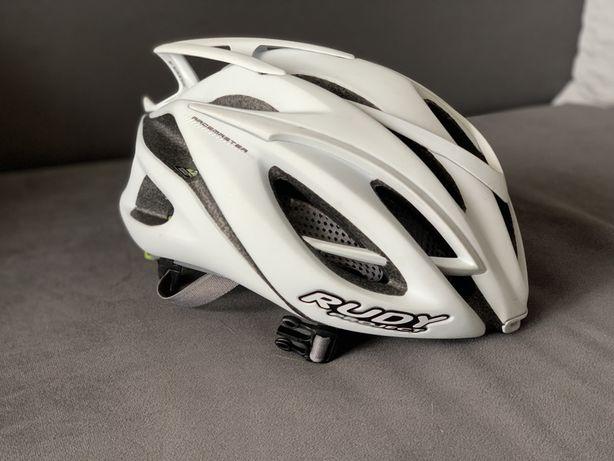 ВелоШлем Rudy Project Racemaster Helmet - White Stealth Matt