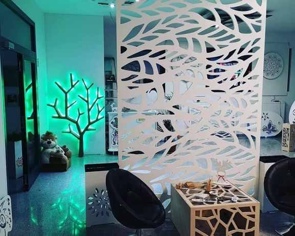 Ścianki Ażurowe Parawany Wypełnienia Ażurowe Wymiar 98x205 cm