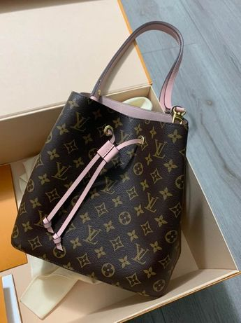 Louis vuitton Neonoe Pink оригинал (M44022)