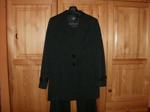 Elegancki komplet: marynarka ze spodniami Apart rozm. 40 + Gratis.