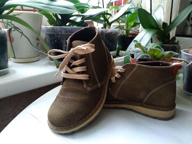 Демисезоные ботинки, унисекс. Размер 30