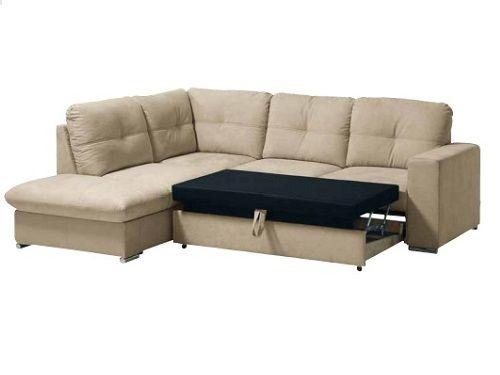 Sofa canto com cama e baú de arrumaçao NOVO