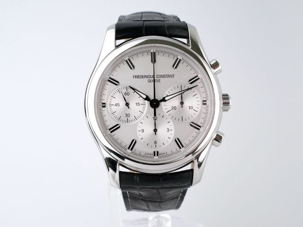 Мужские новые часы Frederique Constant Vintage Rally Chronograph 43мм