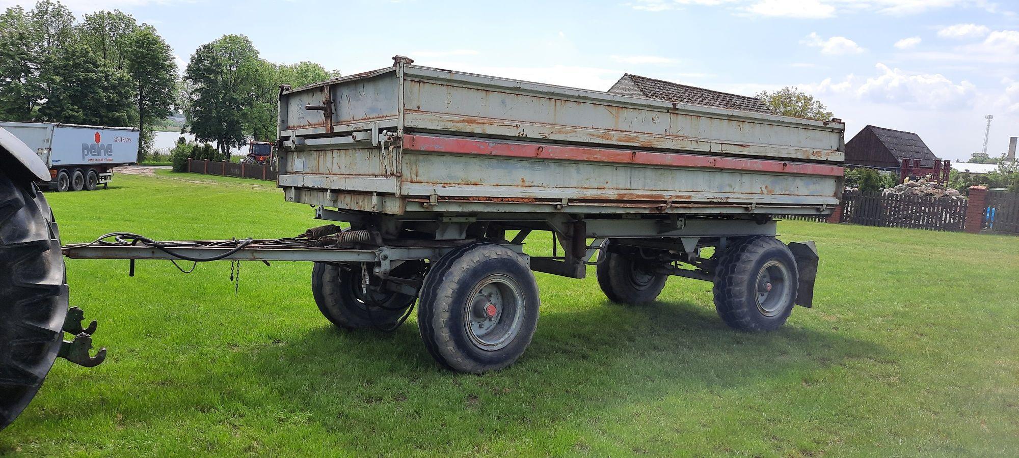 Przyczepa rolnicza wywrotka HW 80.11 HL Ifa