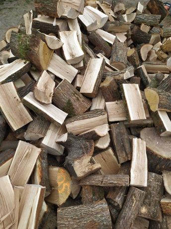 Drewno kominkowe opałowe dąb buk brzoza