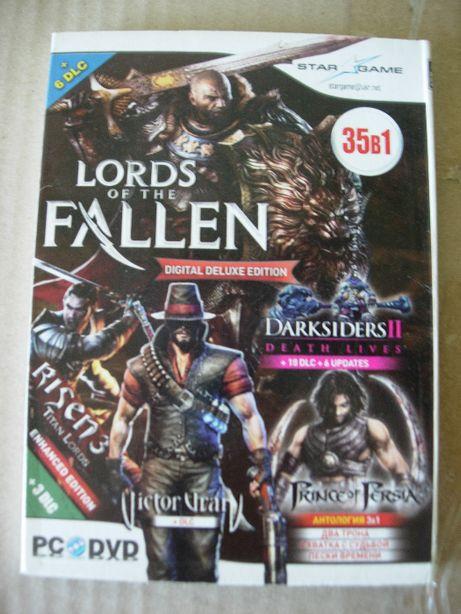 Lords of the Fallen. 35 в 1. PC-DVD. Двухсторонний диск