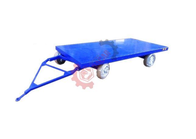 Przyczepa do wózka widłowego platforma przemysłowa DUŻA 4T
