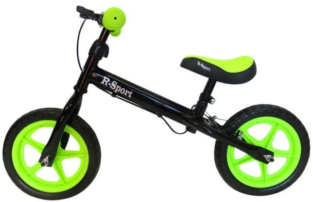 Беговел для детей от 2 3 4 лет R-Sport R4 колеса 12 пена тормоз