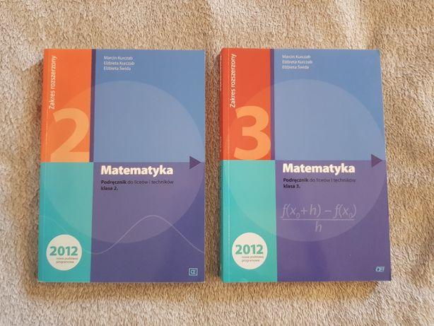 Matematyka podręcznik do liceów i techników (klasa 2 i klasa 3)