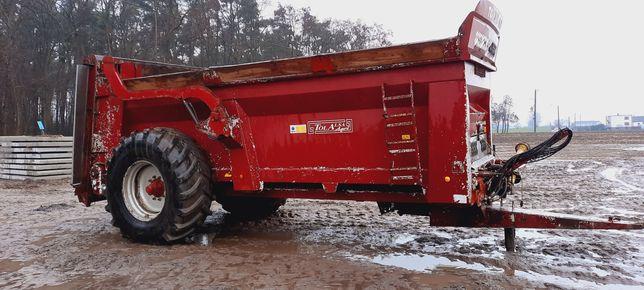 Rozrzutnik obornika pionowe wały 15 10 ton resor gnojara 2004r okazja
