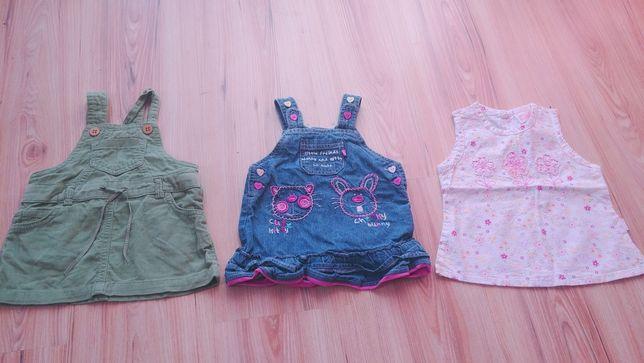 Sukienki r. 62-68