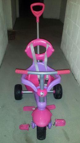 Rower trójkołowy dla dziewczynki 12 +.
