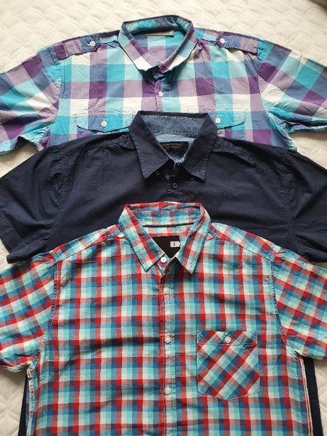 Koszule męskie rozm.L, Diverse Carry, 3 sztuki