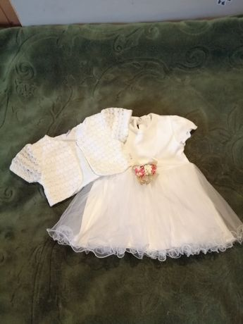 Sprzedam sukieneczke do chrztu św