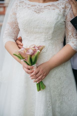 Свадебное платье трансформер на высокую девушку. Не венчаное.