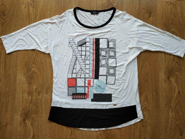 MAKALU koszulka damska bluzka t-shirt rozmiar 36