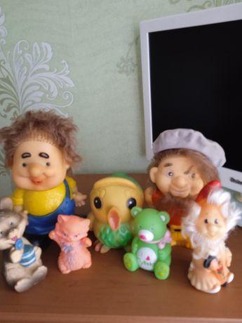 Іграшки резинові у гарному стані СССР сім штук