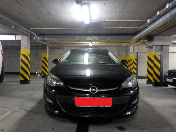 Opel Astra J 2014 r
