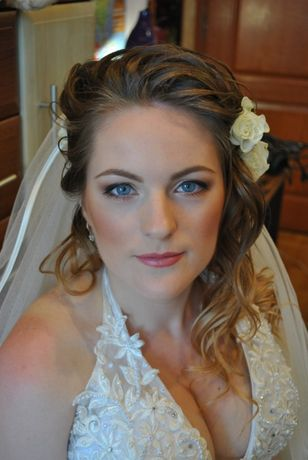 Свадебный макияж и прическа в Киеве с выездом на дом