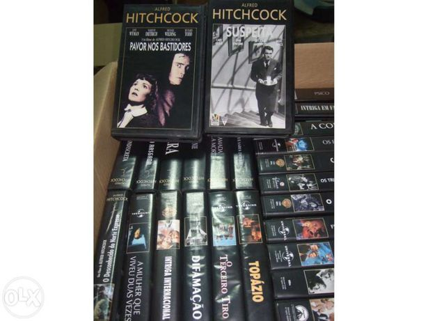 Cassetes vhs alfred hitchcock