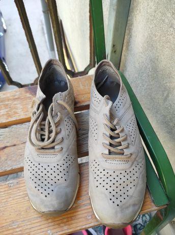 Кросівки шкіряні Кроссовки кожаные