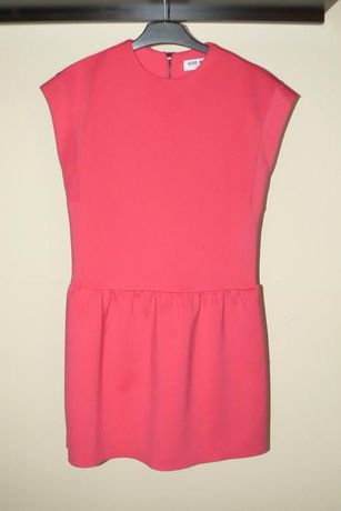 xs różowa zip sukienka vero moda 34 36