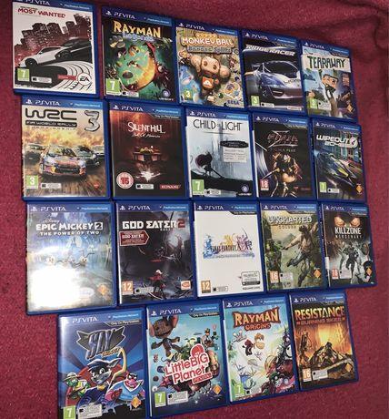 Diversos jogos PS Vita