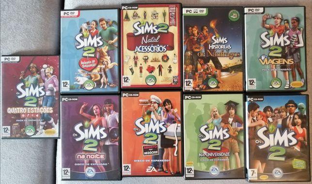 Sims 2 - principal + 8 extensões